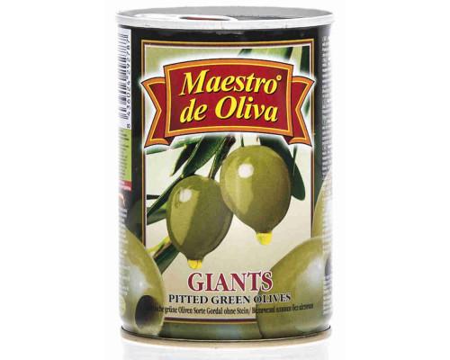 Оливки Maestro de Oliva гигант б/к 420г ж/б