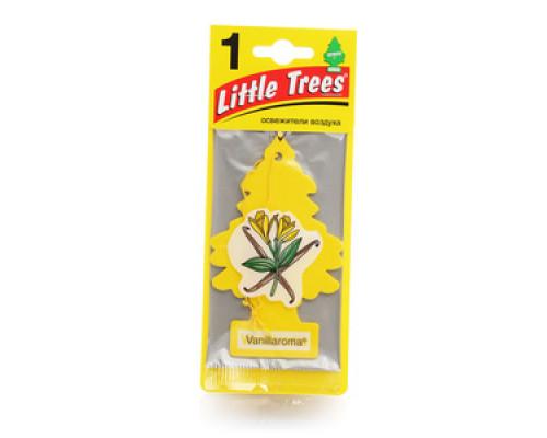 Освежитель воздуха для автомобиля подвесной Vanillaroma (Ванилларома) ТМ Little Trees (Литл Трис)