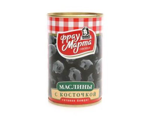 Маслины с косточкой ТМ Фрау Марта
