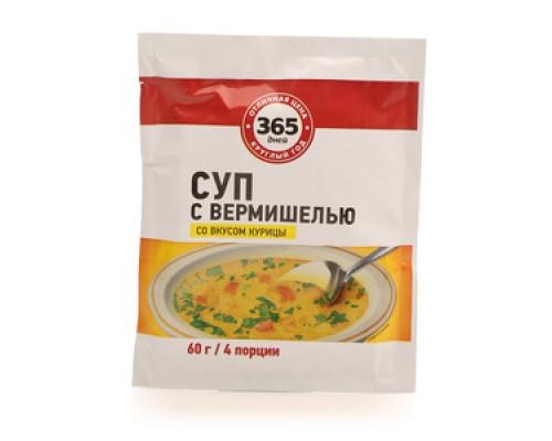 Суп с вермишелью со вкусом курицы ТМ 365 дней