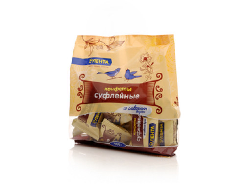 Конфеты суфлейные со сливочным вкусом ТМ Лента