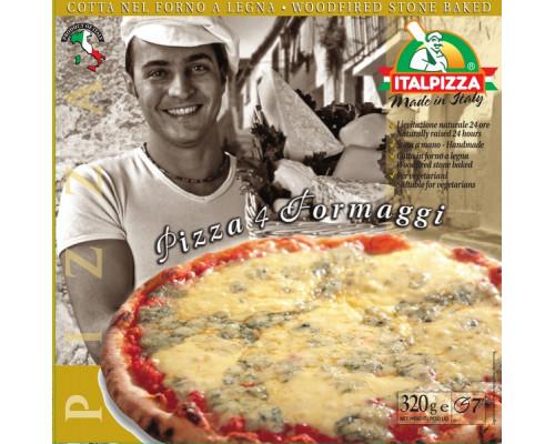 Пицца ТМ Italpizza (Италпицца), 4 сыра, 320 г
