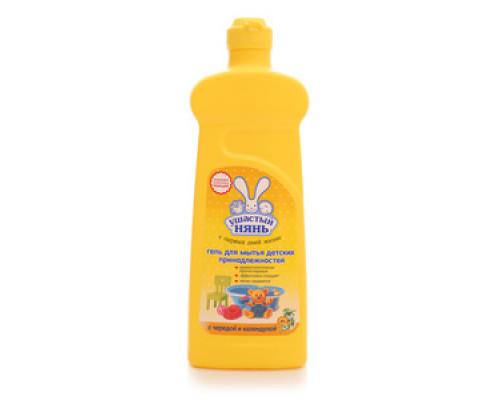 Гель для мытья детских принадлежностей с чередой и календулой ТМ Ушастый Нянь