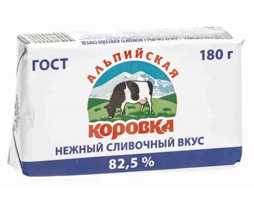 Спред Альпийская коровка 82,5% 180г