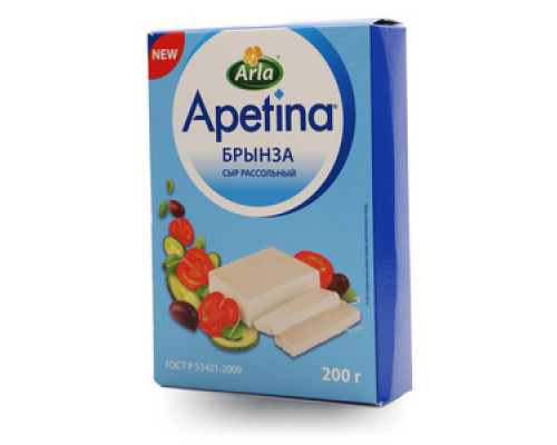Сыр расольный Брынза ТМ Apetina (Апетина)