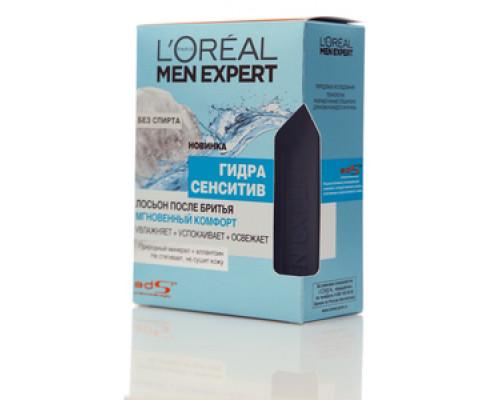 Лосьон после бритья Гидра Сенситив ТМ LOREAL Men Expert (Лореаль Мэн Эксперт)
