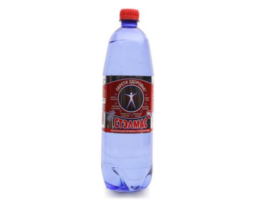 Вода питьевая минеральная газированная ТМ Стэлмас, 1 л