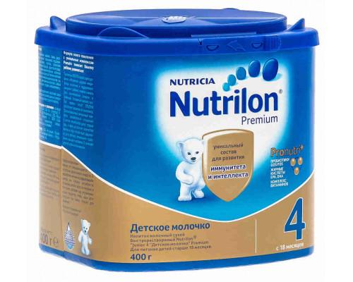 Смесь молочная Nutrilon 4 с 18мес 400г