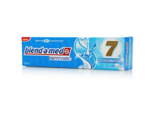 Зубная паста с ополаскивателем ТМ Blend-a-med (Бленд-а-мед) Комплекс 7 Экстрасвежесть