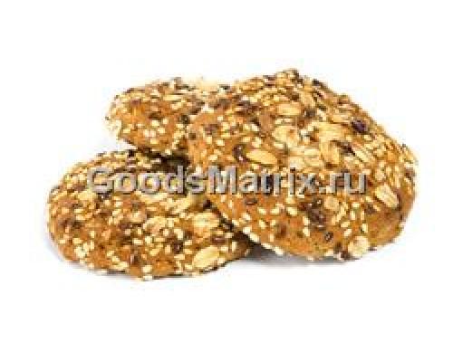 Печенье ТМ Полет, овсяное 5 злаков , 600 г