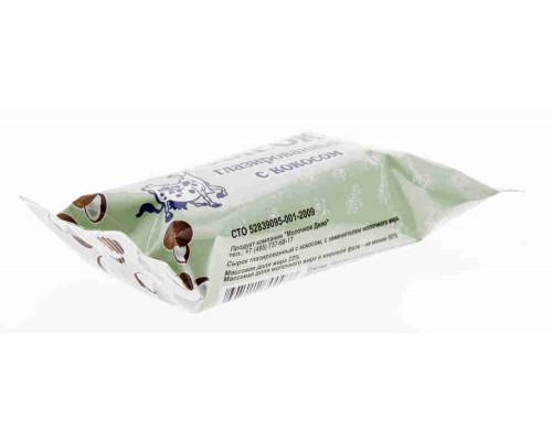 Сырок ТМ Снеда, глазированный, кокос 23%, 50 г
