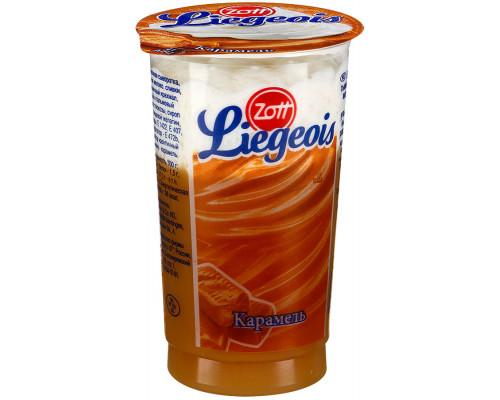 Десерт ТМ Zott (Зотт) Liegeois карамель, 2,5%, 175 г