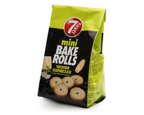 Сухарики «Bake Rolls»ТМ 7 Days(Сэвэн дэйс)