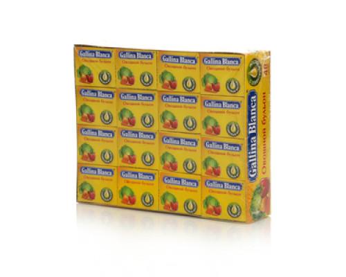 Бульон овощной 48 кубиков *10г ТМ Galina Blanca (Галина Бланка)