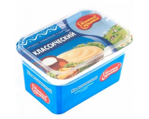 Продукт плавленый ТМ Жинкина Крынка классический с сыром, 60%, 400 г