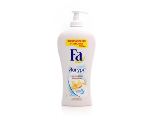 Крем-гель для душа греческий йогурт с ароматом миндаля ТМ FA (ФА)