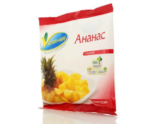 Ананас сладкий свежезамороженный ТМ Vitamin (Витамин)