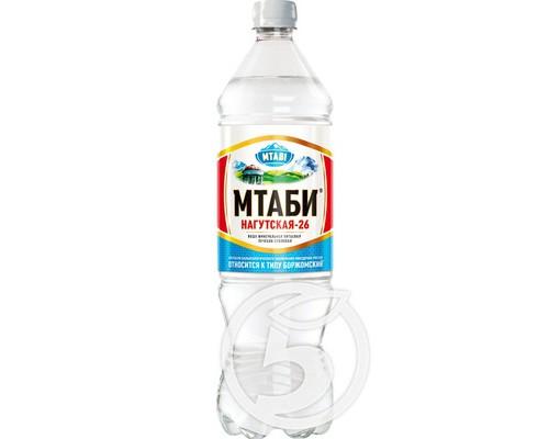 Вода минеральная ТМ MTABI (МТАБИ), 1,25 л