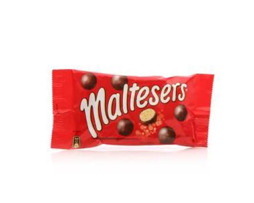 Драже покрытые молочным шоколадом ТМ Maltesers (Малтесерс)