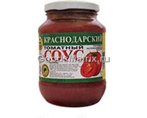Соус томатный Краснодарский ТМ Капитан Припасов, 480 г