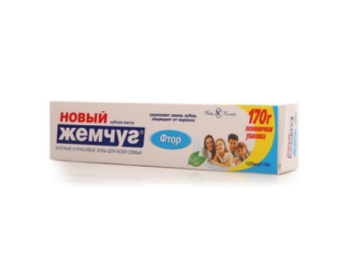 Зубная паста Фтор ТМ Новый жемчуг