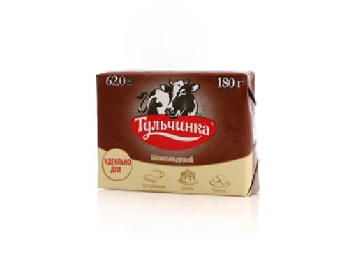 Спред растительно-жировой Тульчинский шоколадный 62% ТМ Тульчинка