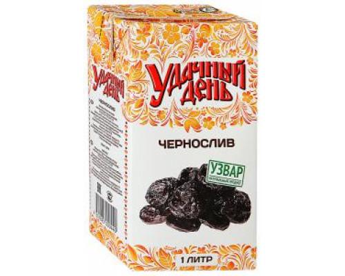Напиток ТМ Удачный день Чернослив, 1 л