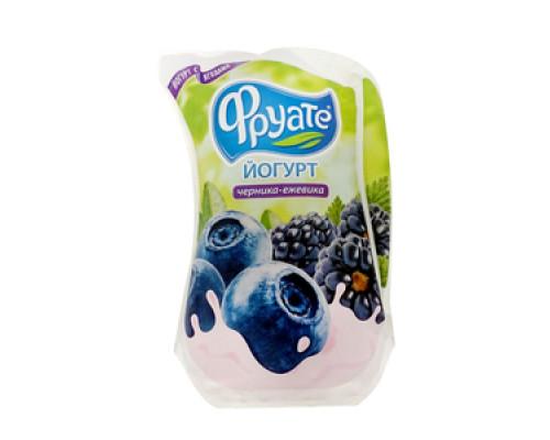 Йогурт питьевой черника-ежевика 1,5% ТМ Фруате