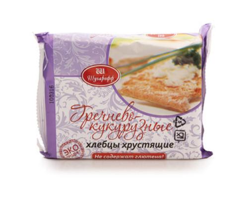 Хлебцы хрустящие гречнево-кукурузно ТМ Шугарофф
