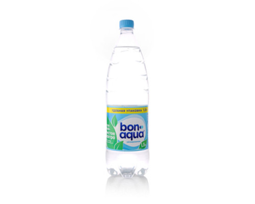Вода ТМ BonAqua (БонАква), негазированная 1,5 л