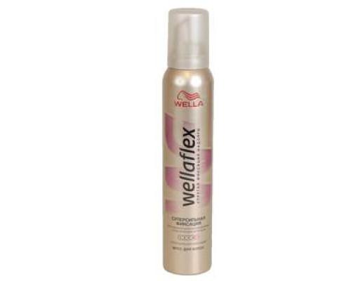 Мусс для укладки волос суперсильной фиксации ТМ Wellaflex (Веллафлекс)