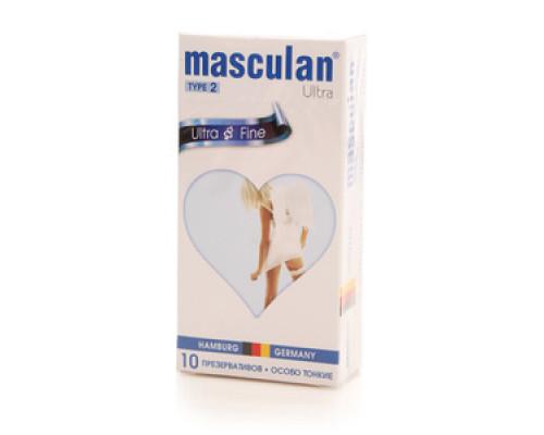Презервативы Mascular Ultra  Fine особо тонкие Type 2 ТМ Masculan (Маскулан), 10 шт.