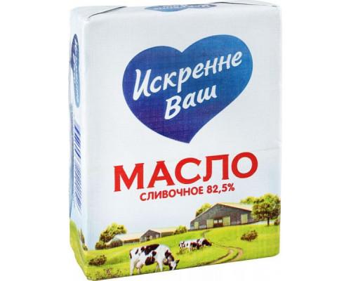 Масло сливочное ТМ Искренне Ваш, 82,5%, 180 г