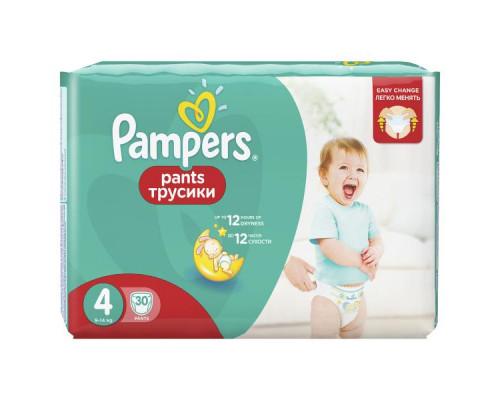 Подгузники-трусики ТМ Pampers (Памперс) Pants, 9-14 кг, 30 шт.