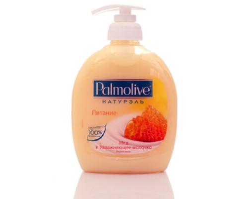 Жидкое мыло ТМ Palmolive  (Палмолив) Питание Мед и Увлажняющее молочко