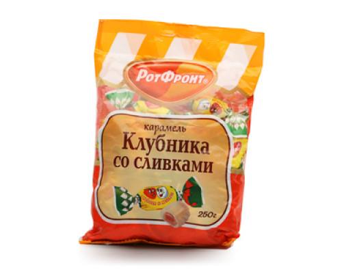 Карамель Клубника со сливками ТМ РотФронт