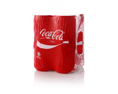 Напиток безалкогольный сильногазированный Coca-Cola 4*330 мл ТМ Coca-Cola (Кока-Кола)