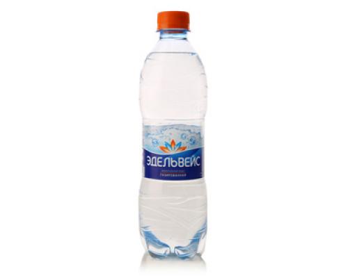 Вода минеральная газированная ТМ Эдельвейс