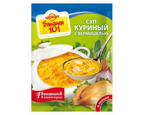 Суп Русский продукт куриный с вермишелью 60г
