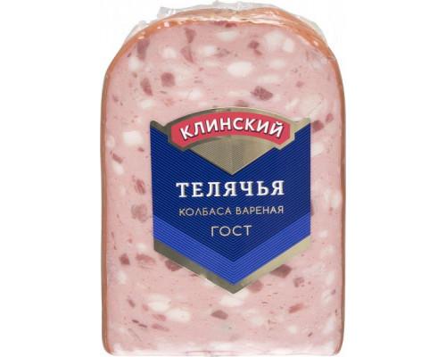 Колбаса Телячья ТМ Клинский МК, вареная, 450 г