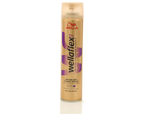Лак для волос объем для тонких волос ТМ WellaFlex (Веллафлекс)