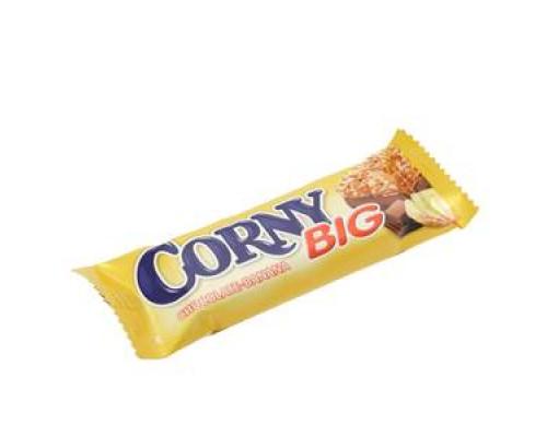 Батончик злаковый с бананом и молочным шоколадом ТМ Corny Big  (Корни биг)