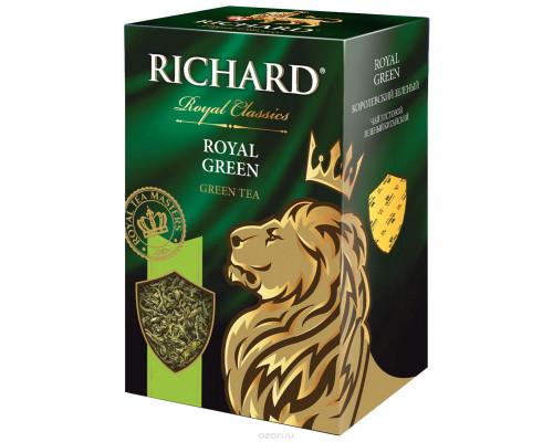 Чай зеленый ТМ Richard (Ричард) Royal Green, листовой, 90 г