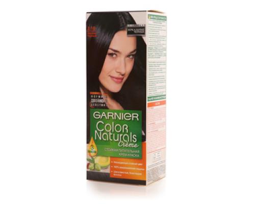 Стойкая питательная крем-краска 'Color Naturals' 2.10 иссиня черный ТМ Garnier (Гарньер)