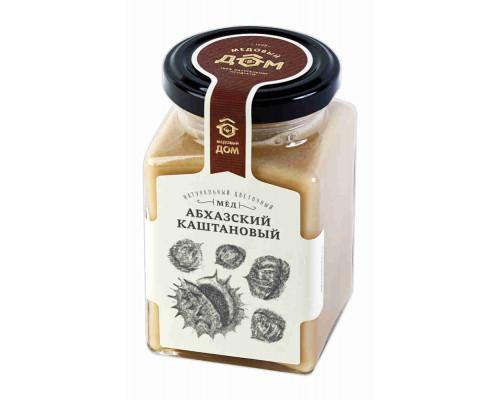 Мёд натуральный  Абхазский каштановый цветочный 320г ст/б