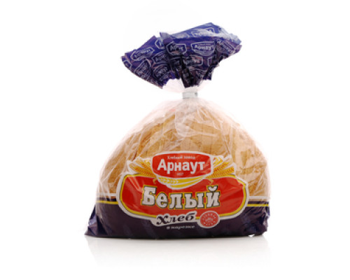 Хлеб белый в нарезке ТМ Арнаут