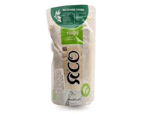 Тофу соевый продукт Весенние травы ТМ Ясо
