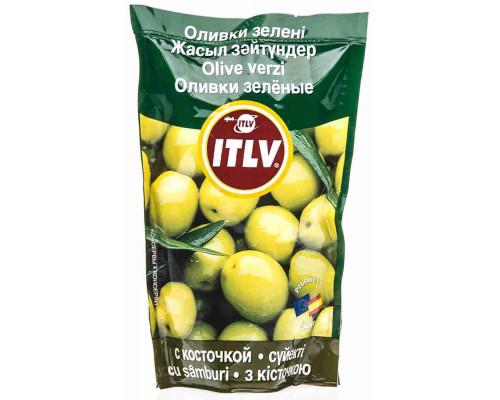 Оливки зеленые Itlv с/к 195г д/п