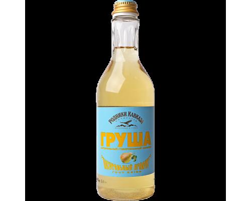 Напиток Родники Кавказа груша, газированный, 0,5 л