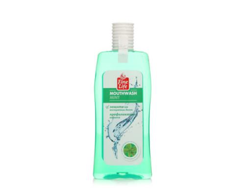 Ополаскиватель для полости рта Mouthwash Mint TM Fine Life (Файн Лайф)